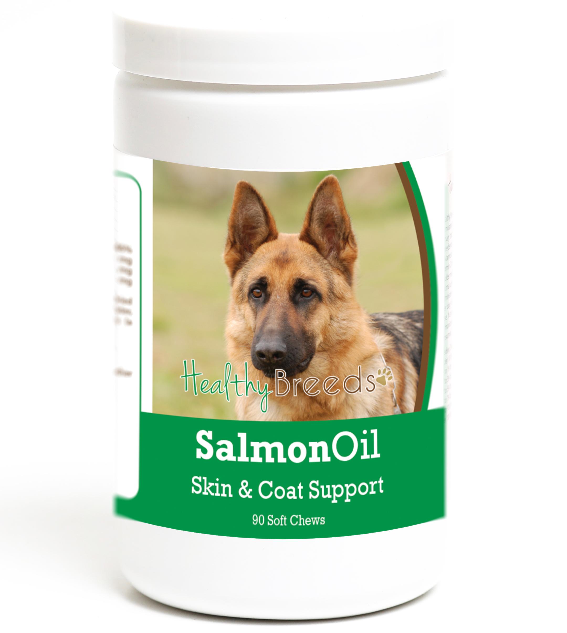 Healthy Breeds German Shepherd Salmon Oil Soft Chews 90 Count