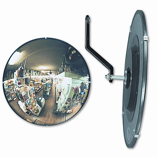 See-All Industries 160 Degree Convex Security Mirror, 18'' Dia.