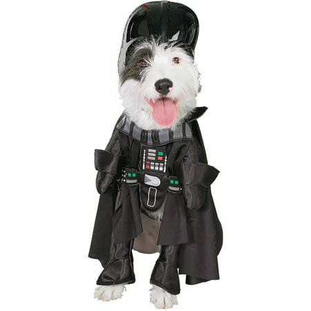 Star Wars Darth Vader Dog Costume Pet Outfit Jumpsuit & Hat](Star Wars Dog Costumes Uk)