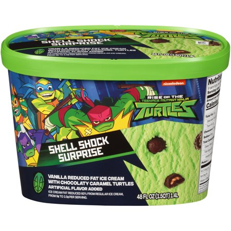 Nickelodeon Teenage Mutant Ninja Turtles Shell Shock Surprise Ice Cream, 48 fl oz