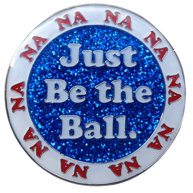 Caddyshack Golf Ball Marker & Hat Clip - Just Be The Ball (White) Bulk Golf Ball Markers