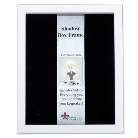 790211 White Wood Shadow Box 11x14 Picture Frame (Wood Shadow Boxes)