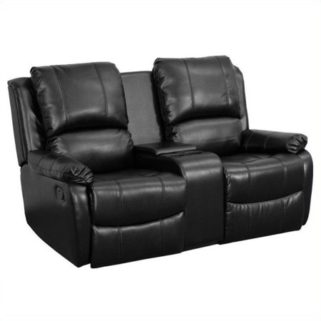 Flash Furniture 2-Seat Home Theater Recliner in Black - image 3 of 3