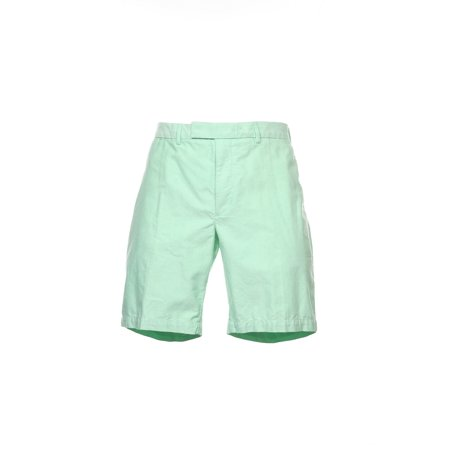 Ralph Lauren Flat Front Shorts - Polo by Ralph Lauren Men's Light Green Two Tone Flat Front Walking Shorts