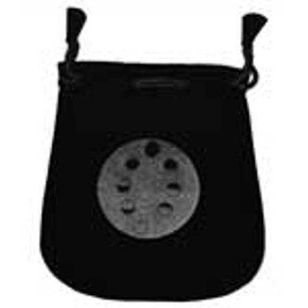 RBI Fortune Telling Toys Moon Phases Velveteen Black Bag For Wish Mojo Magical Supplies 5