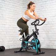 Pro Series Edition Aqua Stationary Exercise Fitness Bike Cycling Cardio Health Workout Indoor with Water Bottle