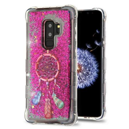 Samsung Galaxy S9 Plus Case, by Insten Tuff Quicksand Glitter Dreamcatcher Hard Plastic/Soft TPU Rubber Case Cover For Samsung Galaxy S9 Plus S9+, Multi-Color - image 6 de 6