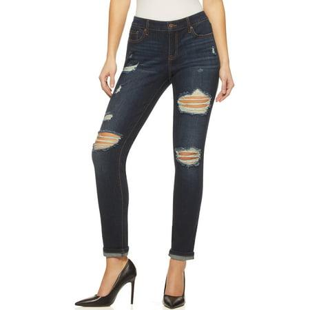 Sofia Jeans by Sofia Vergara Women's Bagi Boyfriend Jeans