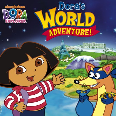 - Dora's World Adventure (Dora the Explorer) - eBook