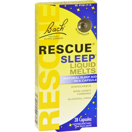 Bach Flower Remedies Rescue Sleep Liquid Melts - 28