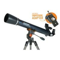 Celestron AstroMaster LT 70AZ Refractor Telescope with Smartphone Adapter