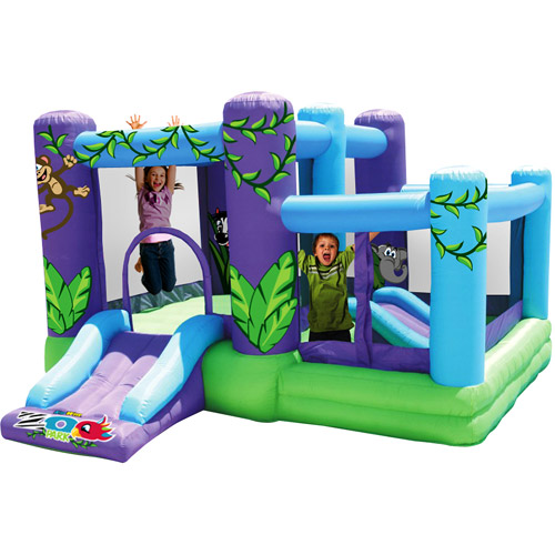 Kidwise Zoo Park Bouncer with Ball Pit