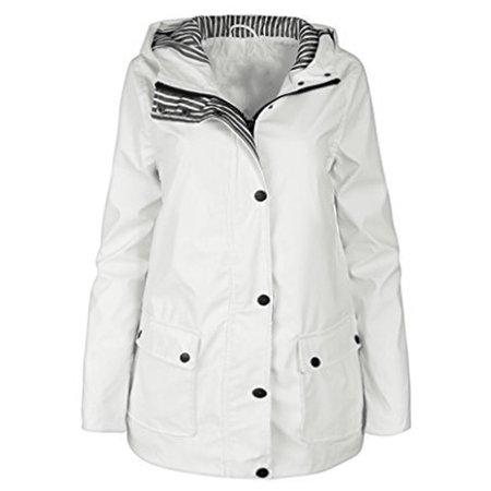 d9d270b0dbca Urban Republic - Urban Republic Girls White Light-Weight Hooded ...