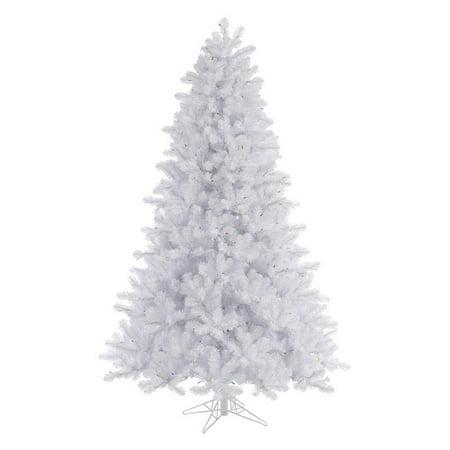 Vickerman 8.5' Crystal White Pine Artificial Christmas Tree, Unlit