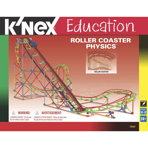 K'NEX Education: Roller Coaster Physics Building Set