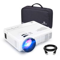 VANKYO Leisure 3 1080P Supported Mini Projector with 2400 Lux 40000 Hours Lamp Life, LED Portable Projector Support 170'' Display, Compatible with TV Stick, PS4, HDMI, VGA, TF, AV and USB (White)