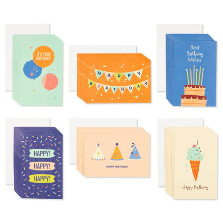 Halloween Birthday Greetings (American Greetings 48-Count Assorted Birthday Greeting)