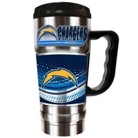 Los Angeles Chargers The Champ 20 oz. Travel Tumbler - Silver - No Size