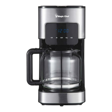 Magic Chef 12-Cup Coffee Maker in Stainless Steel (Magic Chef Coffee)