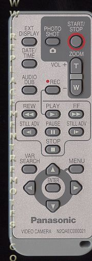 New OEM Panasonic Remote Control for PV-GS320