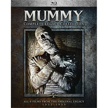The Mummy  Complete Legacy Collection  Blu Ray