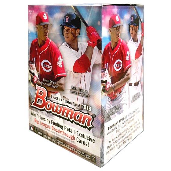 2018 Topps Mlb Bowman Value Box Baseball Trading Cards