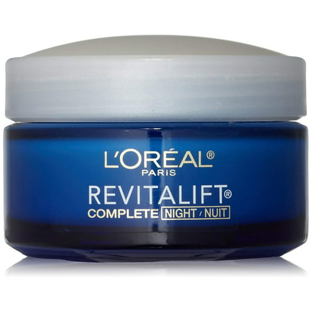 L'Oreal Paris, RevitaLift Anti-Wrinkle + Firming Night Cream Moisturizer 1.7 oz Anti Wrinkle Night Cream
