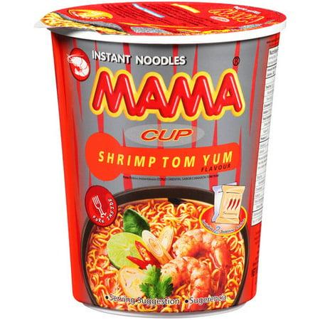 (5 Pack) Mama Shrimp Tom Yum Instant Noodles, 2.47