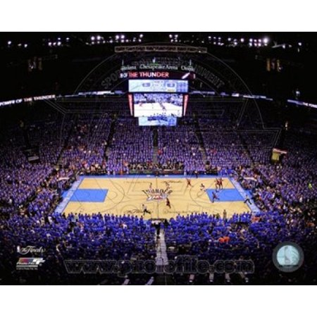 Chesapeake Energy Arena Game 1 Of The 2012 Nba Finals Sports Photo