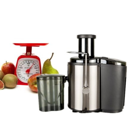 Unbranded 800W 600ML Electric Fruit Veg Juicer Machine Vegetable Extractor Maker Blender