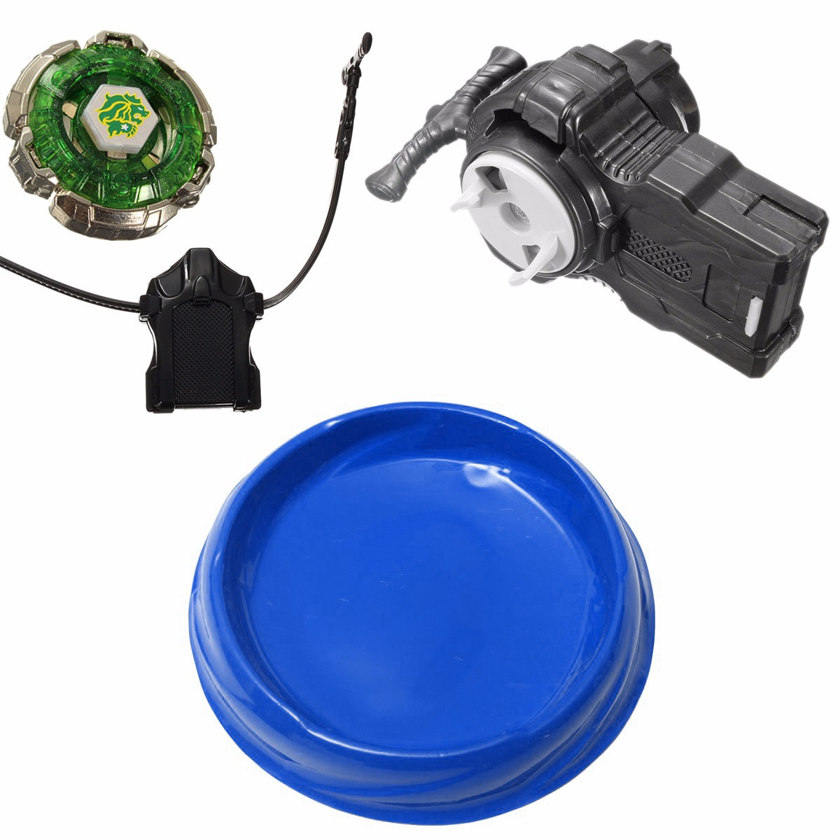 Lot 2Pcs Kids Children's Toys Beyblade Stadium Multi-function Battle Top Plate 7.6'' Blue