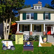 Retirement Yard Decoration - Retirement To Do Decoration
