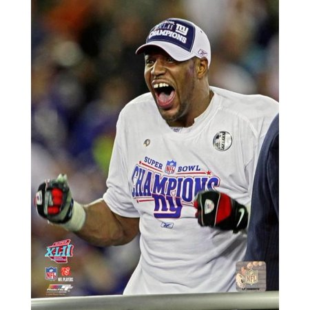 Michael Strahan Superbowl Xlii 2008 Celebration