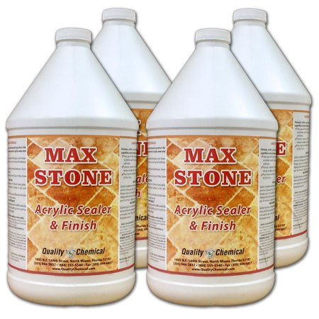 Max Stone Sealer & Finish - 4 gallon case