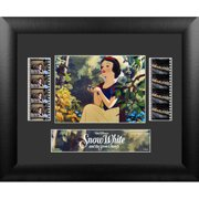 Trend Setters Snow White and the 7 Dwarfs Double FilmCell Presentation Framed Vintage Advertisement