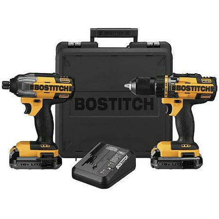Buy Bostitch 18V Lithium Drill Impact Combo Kit, BTCK410L2