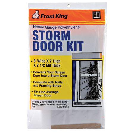 "Weatherstrip, Plastic, 7'L x 36""W FROST KING P784AW"