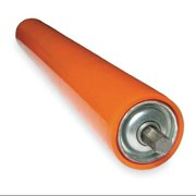 ASHLAND CONVEYOR KG17 PU1/8 AB1 Galv Covered Roller,1.9In Dia,17BF