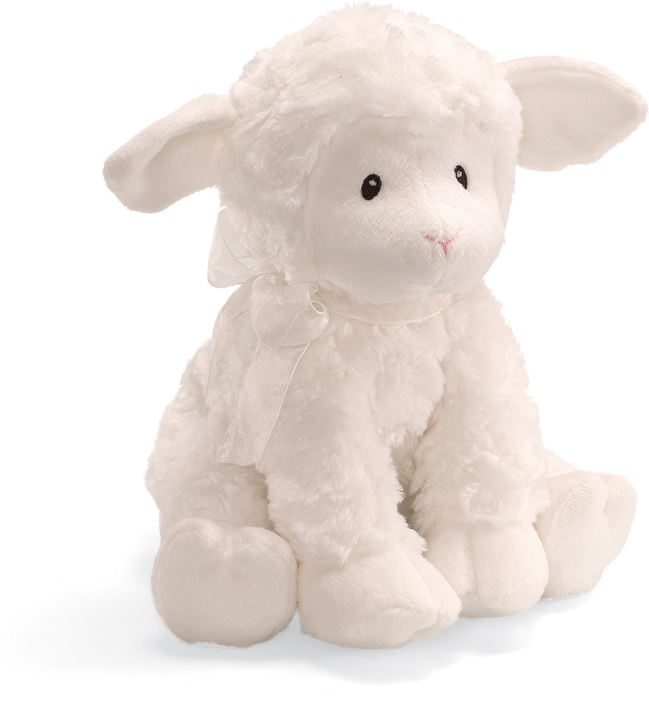 Pers Precious Moments Security Lovey Jesus Loves me White Lamb Plush Blanket