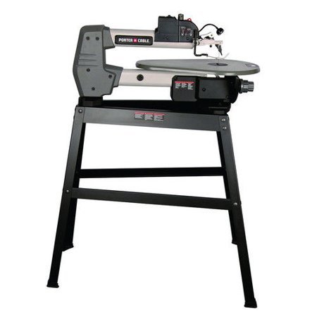 Porter cable pcb375ss 16 amp 18 in variable speed scroll saw with porter cable pcb375ss 16 amp 18 in variable speed scroll saw with stand keyboard keysfo Images
