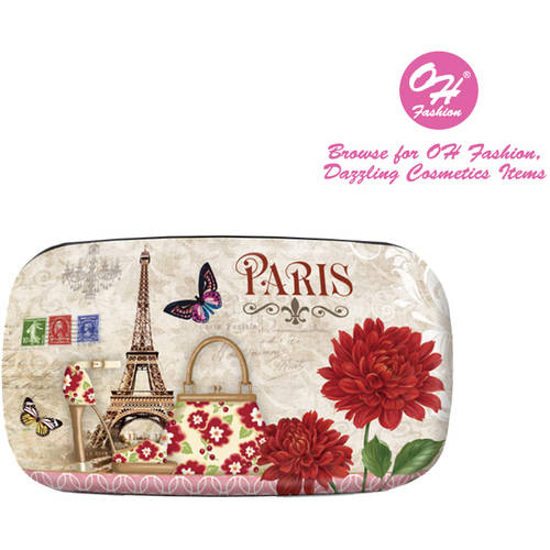 OH Fashion Contact Lens Case Paris style, travel case ,1 pc