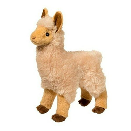 Jasper Golden Llama 8 inch - Stuffed Animal by Douglas Cuddle Toys (1525) - Llama Stuffed Animal