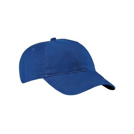 Black Brushed Twill Cap (Top Headwear Brushed Twill Low Profile Cap)