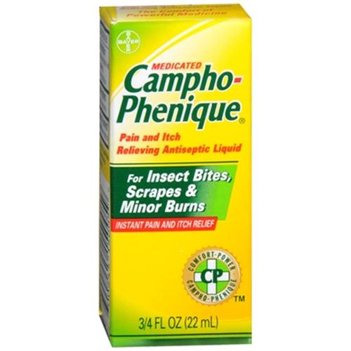 Campho-Phenique Antiseptic Liquid 0.75 oz (Pack of 2)