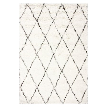 nuLOOM Hand-Made Marrakech Shag Area Rug or Runner
