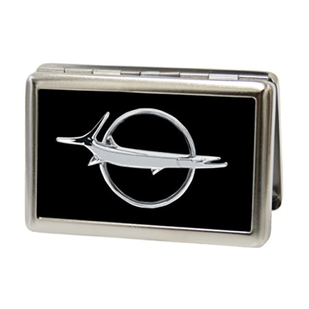 DODGE - Barracuda Emblem - Metal Multi-Use Wallet Business Card (Barracuda Bike Holder)