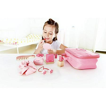 Hape Beauty Belongings Kid's Wooden Cosmetics Pretend Play Kit - E3014 - image 2 de 3