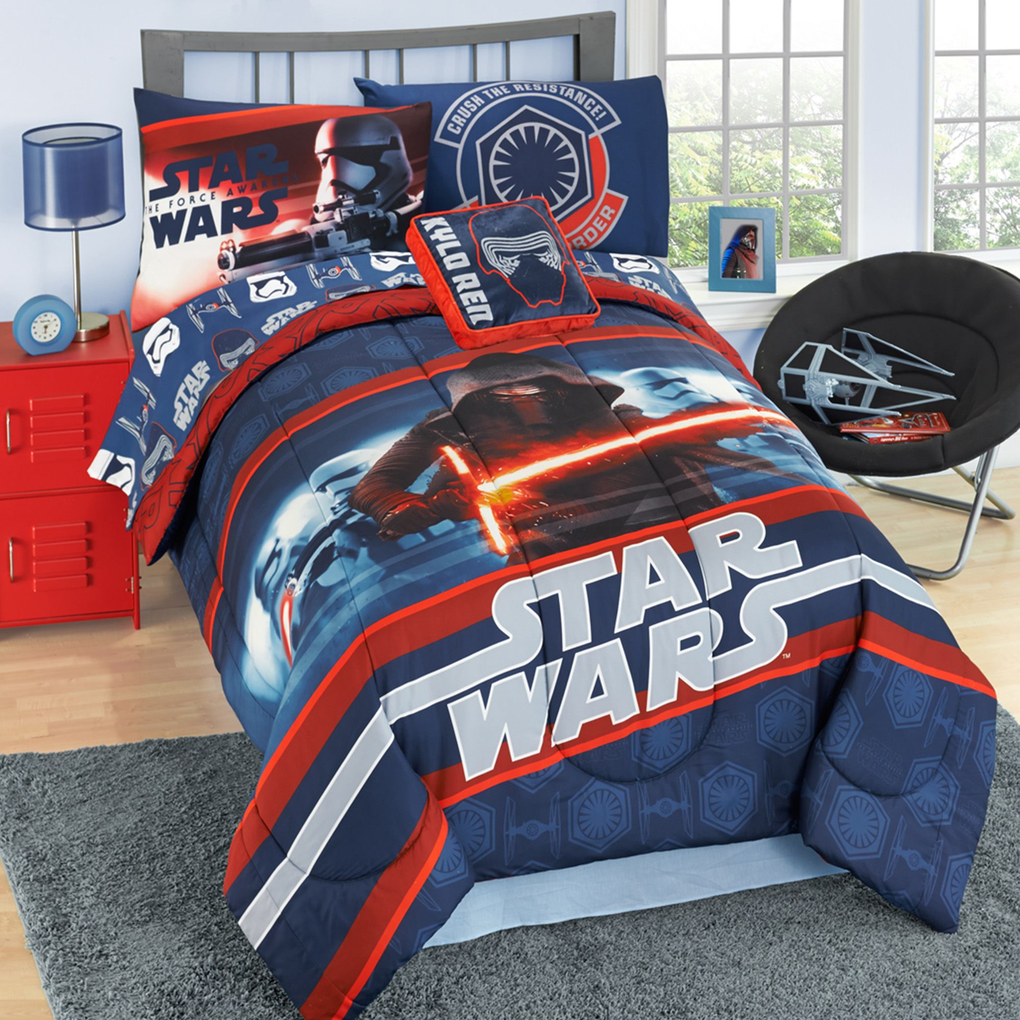 Star Wars EP7 4 Piece Twin Bed in a Bag