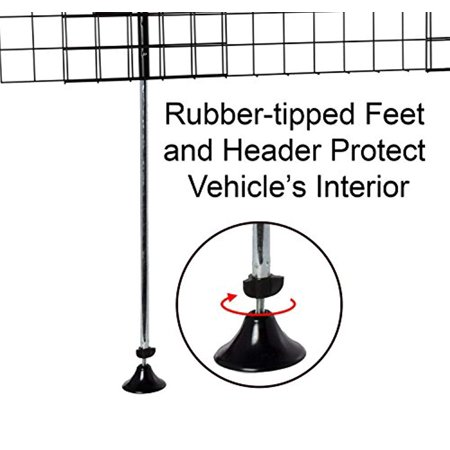 Arf Pets Dog Car Wire Barrier for SUV, Vehicle, Heavy-Duty - Adjustable - image 3 de 5
