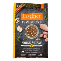 Instinct Raw Boost Grain-Free Recipe with Real Chicken Natural Dry Cat Food by Nature's Variety, 10 lb
